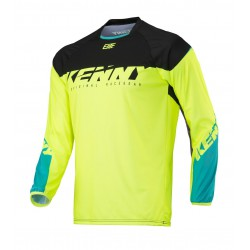 MAILLOT BMX ELITE KENNY ADULTE  NEON/YELLOW 2018